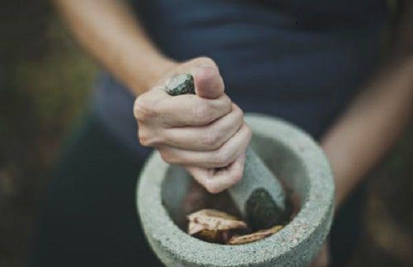 Herb grinder man